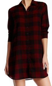 BB Dakota Dresses - BB Dakota Cotter Buffalo Plaid Tunic Dress  Size S